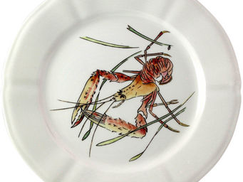 Gien - langoustine - Assiette Plate