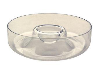 Interior's - vase / plateau en verre - Vase À Fleurs