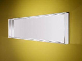 WHITE LABEL - deep miroir mural design en verre - grand modèle - Miroir