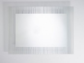 WHITE LABEL - lothal miroir mural design en verre - Miroir