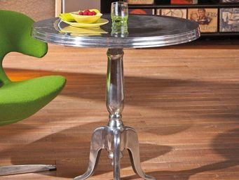 WHITE LABEL - table basse design mistura en aluminium - Table Basse Forme Originale