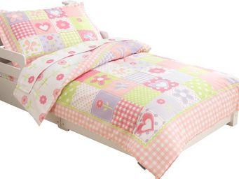 KidKraft - parure de lit 4 pièces cottage en polyester et mic - Parure De Lit Enfant