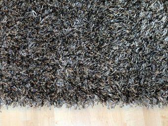 WHITE LABEL - feeling tapis épais gris foncé - 140x200 cm - Tapis Contemporain