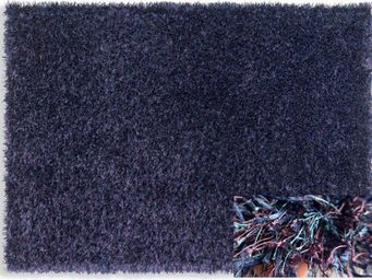 WHITE LABEL - feeling tapis épais bleu mauve 170x240 cm - Tapis Contemporain