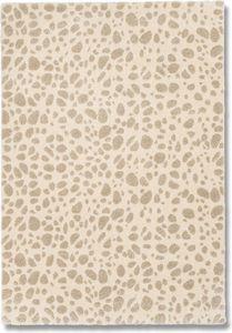 WHITE LABEL - davinci tapis marbré beige 160x230 cm - Tapis Contemporain