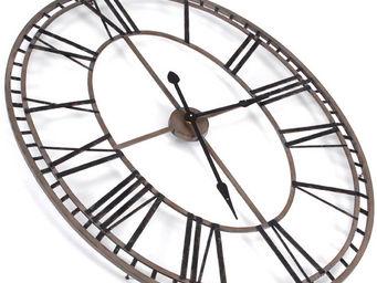 Amadeus - horloge chiffres romains ovale - Horloge Murale