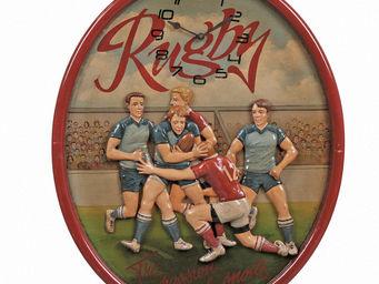Interior's - horloge rugby - Horloge Murale