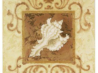 Interior's - gravure coquillage jaune - Décoration Murale