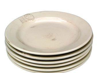 Interior's - assiette plate camée - Assiette Plate
