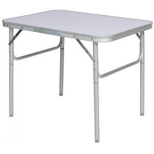 WHITE LABEL - table de camping jardin pique-nique aluminium pliante 75x55 cm - Table De Camping