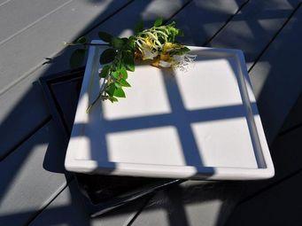 Les Poteries Clair de Terre - yin yang- - Dessous De Pot De Jardin