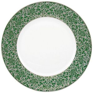 Raynaud - salamanque platine - Assiette Plate