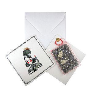 ROSSO CUORE - seeds cards lavanda - Carte De Voeux
