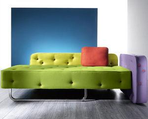 Mathi Design - canapé moderne chew - Canapé 2 Places