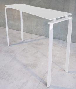 Mathi Design - console laquée blanc - Console