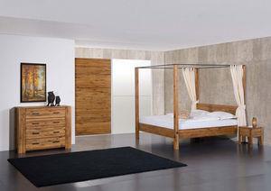 Futon Design -  - Lit Double � Baldaquin