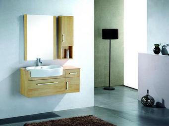 UsiRama.com - meuble salle de bain veinure 1m+ armoire 25cm) - Meuble Vasque
