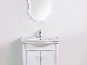 UsiRama.com - meuble salle de bain design princesse 80cm - Meuble Vasque