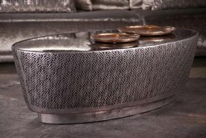 Estetik Decor - karamel - Table Basse Ovale