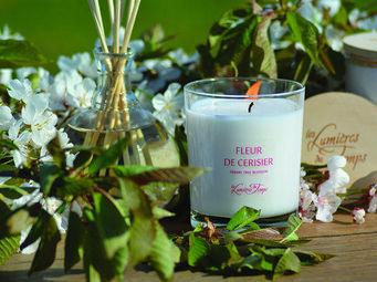 LES LUMIÈRES DU TEMPS - fleur de cerisier - Bougie Parfumée