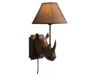 Kare Design - applique rhino marron - Applique