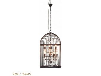 Kare Design - lustre cage chandelier dia - Suspension