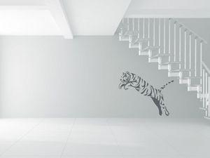 WHITE LABEL - sticker tigre - Sticker