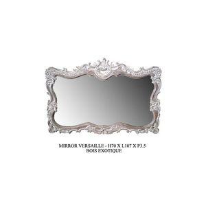 DECO PRIVE - miroir ceruse modele versailles - Miroir
