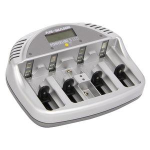 CFP SECURITE - chargeur de piles rechargeables basic 5 plus - Chargeur Pour Batterie