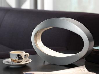 Massive - berio - lampe de table h19,7cm | lampe à poser mas - Lampe À Poser