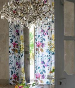 Designers Guild - couture rose - fuchsia - Voilage Au Mètre