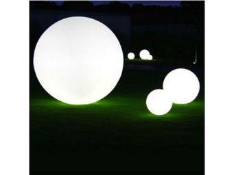 TossB - globe lumineux � m�me le sol / de table globo int� - Lampe De Jardin