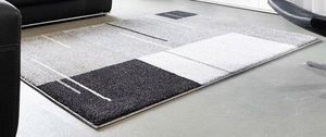 WHITE LABEL - samoa design tapis patchwork gris 160x230 cm - Tapis Contemporain
