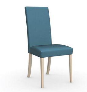 Calligaris - chaise latina de calligaris piétement hêtre nature - Chaise