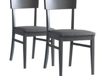 WHITE LABEL - lot de 2 chaises new age plusieurs choix de colori - Chaise