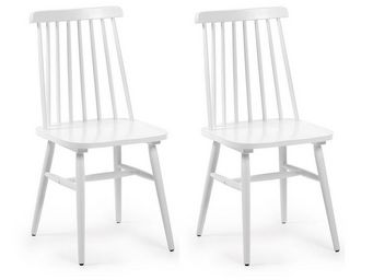 MyCreationDesign - angeles blanc - lot de 2 - Chaise