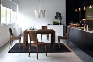 Calligaris - table repas extensible vero 130x90 de calligaris w - Table De Repas Rectangulaire