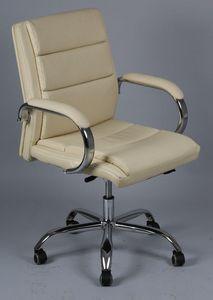 WHITE LABEL - fauteuil de bureau réglable daytona mini en simili - Fauteuil