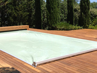 Abrideal -  - Couverture De Piscine Automatique