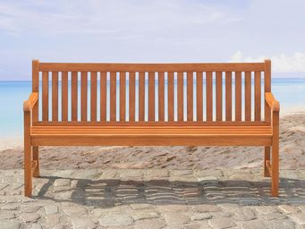 BELIANI - banc en bois - Banc De Jardin