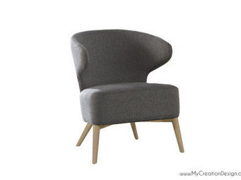 MyCreationDesign - pat gris - Fauteuil Crapaud