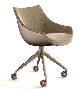 Cassina - passion - Chaise À Roulettes