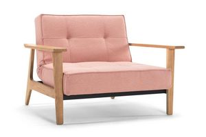 INNOVATION - fauteuil splitback frej rouge convertible lit 115* - Fauteuil