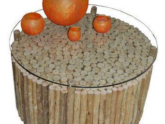 Africa Style - coffee - Table Basse De Jardin