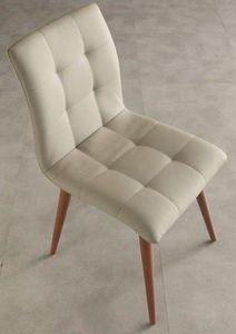 WHITE LABEL - chaise finland design beige - Chaise