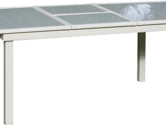 HEVEA - table de jardin extensible amaryllis 150-200cm - Table De Jardin