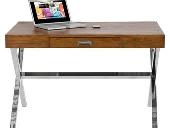Kare Design - bureau en bois manhattan wood - Bureau
