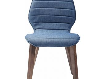 Kare Design - chaise vita bleue - Chaise