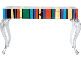 Kare Design - console janus colorful 1 tiroirs - Console