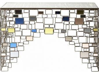 Kare Design - console brick deluxe 110x35cm - Console